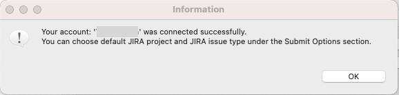 Connect Jira Configuration successfully in Katalon