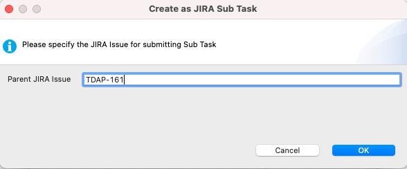 Create a sub task