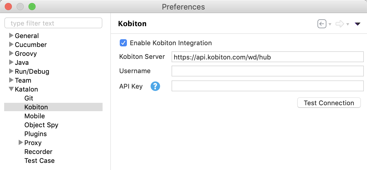 enable kobiton integration 7.8 onwards