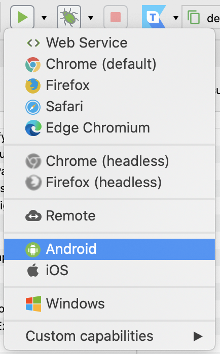 Regconize Android devices