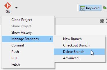 Delete Branch