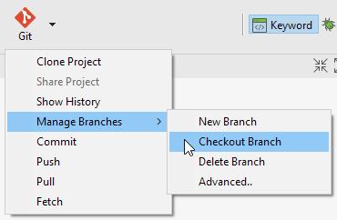 checkout branch