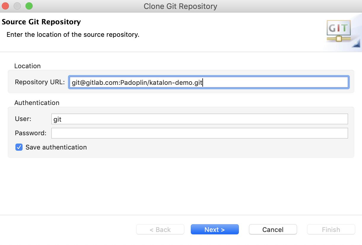 source git repository