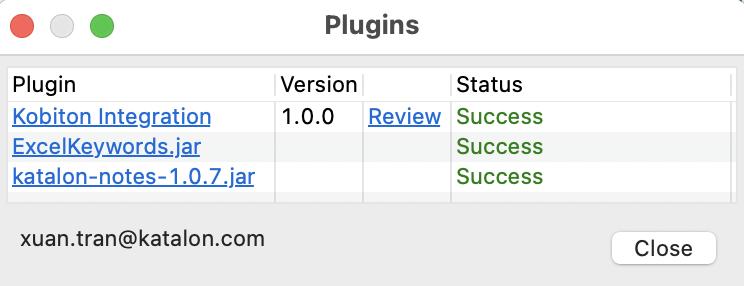 reload success