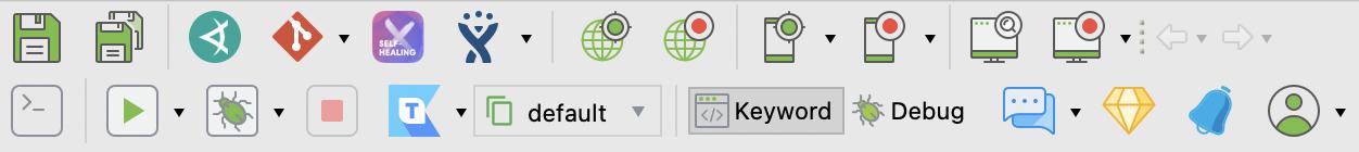 full toolbar
