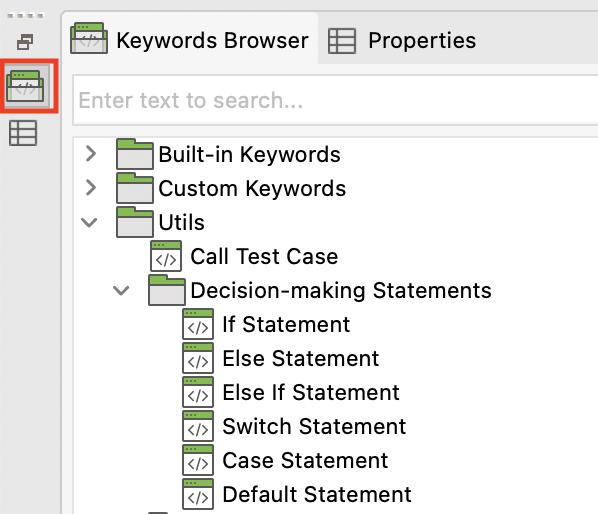 keywords browser