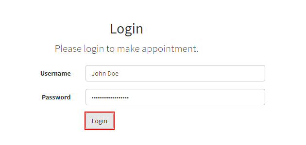 Login-to-Make-Appointment