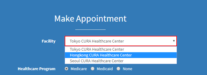 Make-Appointment-page