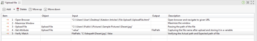 Handle File Uploads testing Manual Mode
