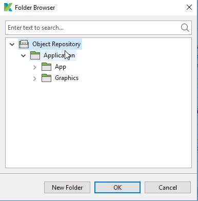 Object Repository in Katalon Studio