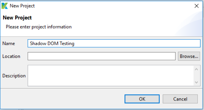 Katalon DOM testing