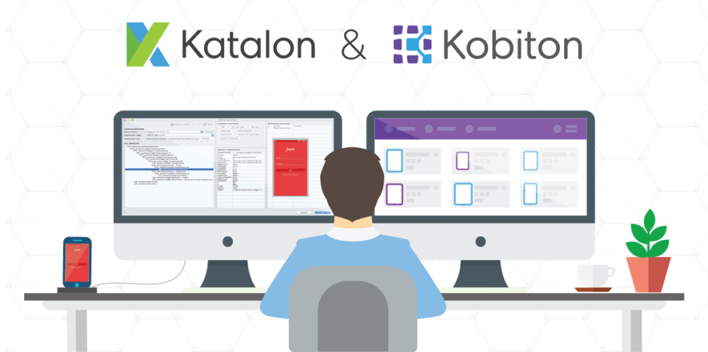 Testing mobile apps using Katalon Studio and Kobiton's cloud-based device farm
