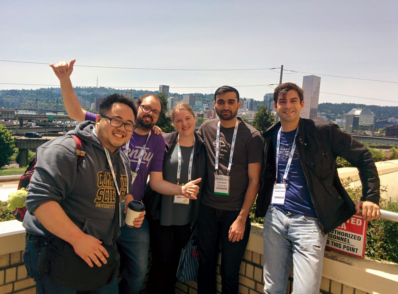 PyCon with friends new and old