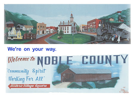 Noble County (courtesy of David Cater)
