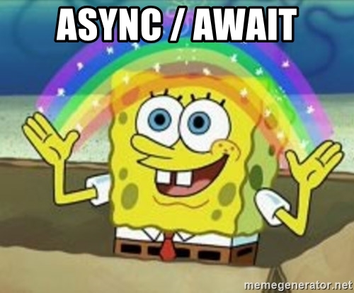 bob loves async