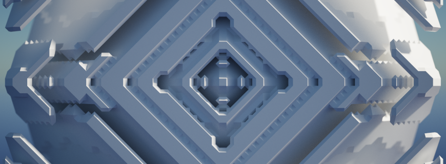 pseudofractals-voxel-shader example