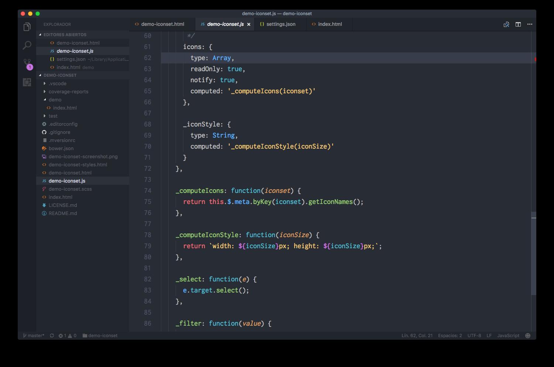 JavaScript files