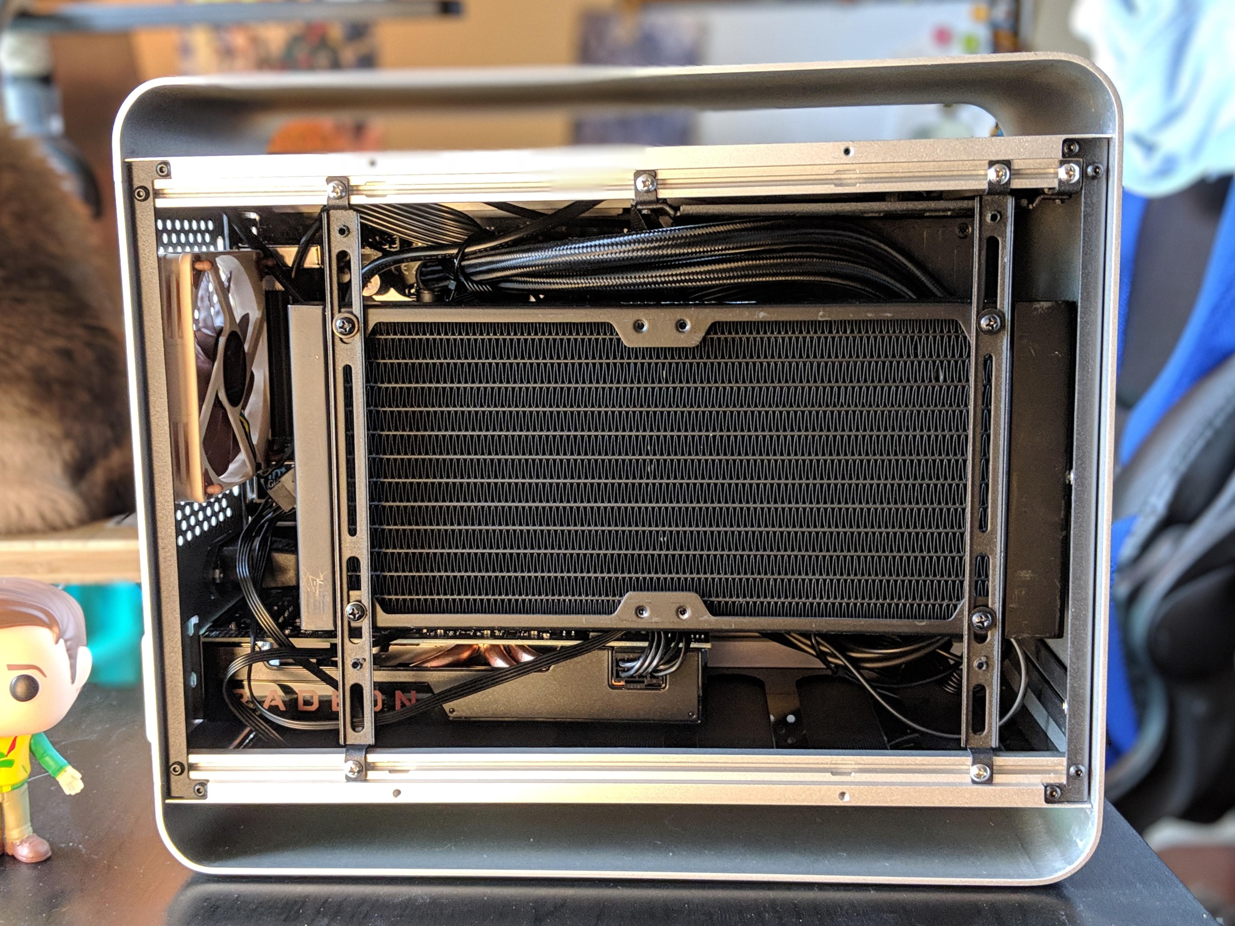PC Case - Open Side Left