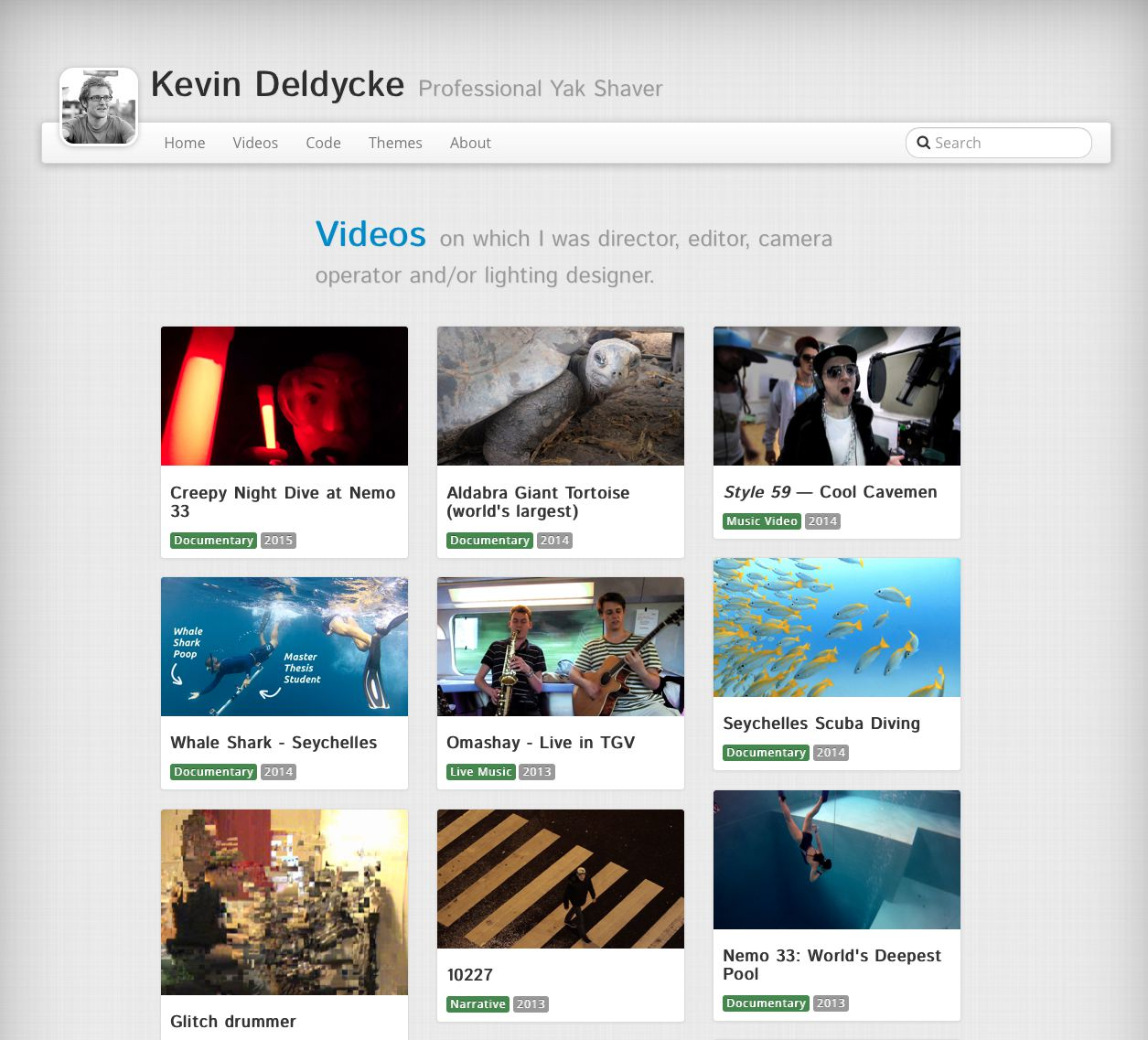 Plumage projects: videos showcase