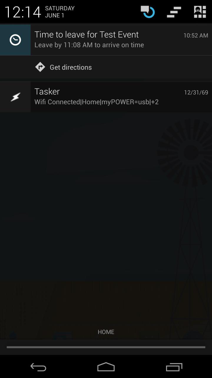 Tasker and Google Maps