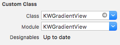 Adding KWGradientView