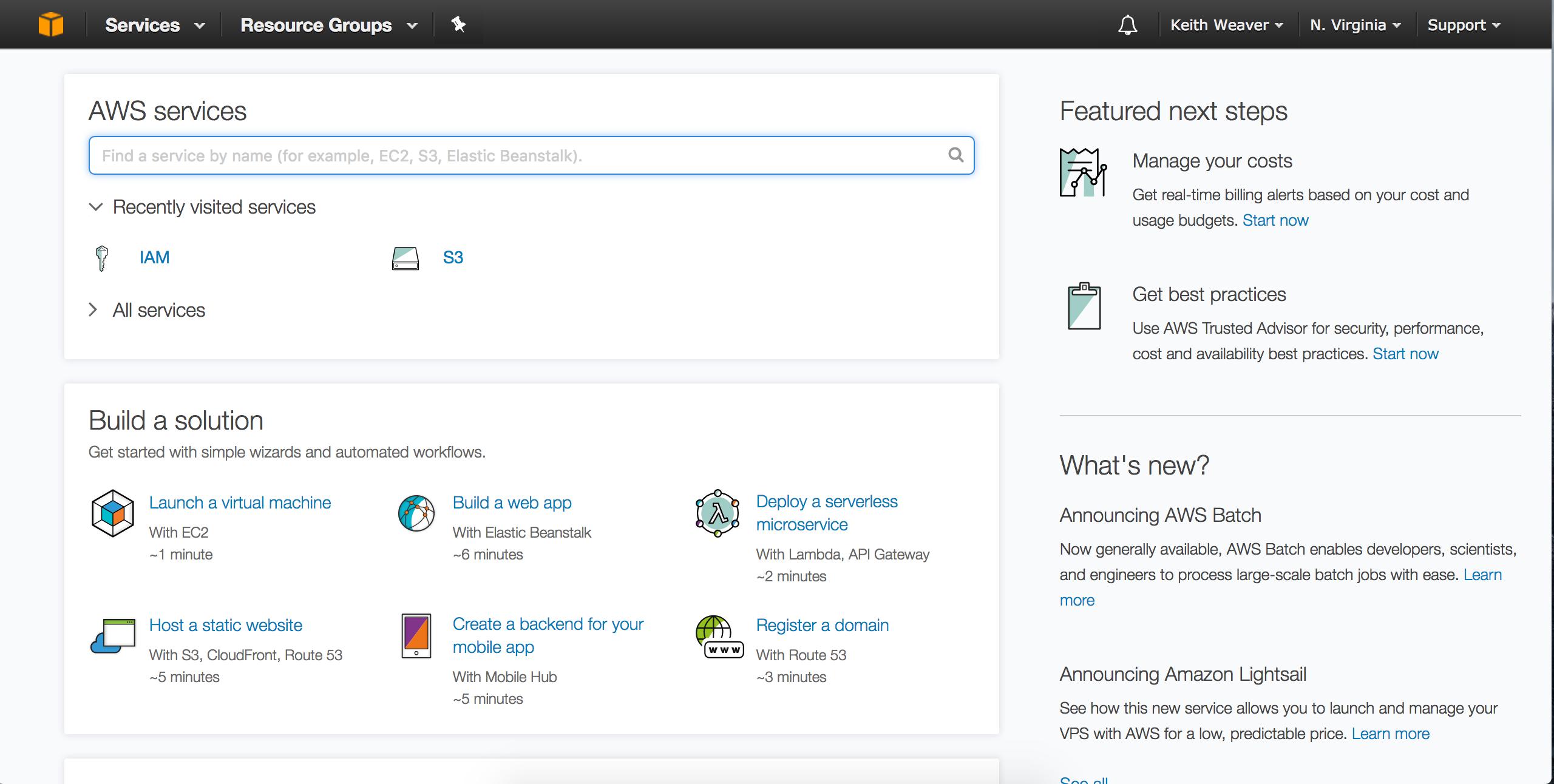 GitHub - keithweaver/python-aws-s3: Demo of AWS S3 Walkthrough using