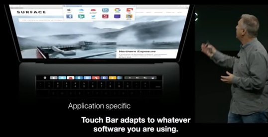 New MacBook Pro (2016) Touch Bar