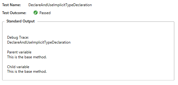 implicit type declaration