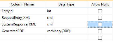 Binary Data in one table
