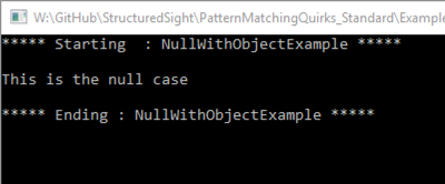 shows object case works same way