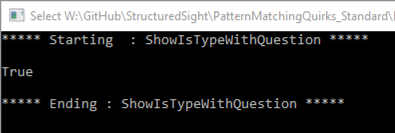 Is Type With Question, Question doesn't appear