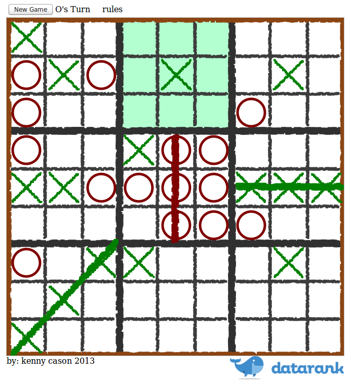 how to play ultimate tic tac toe