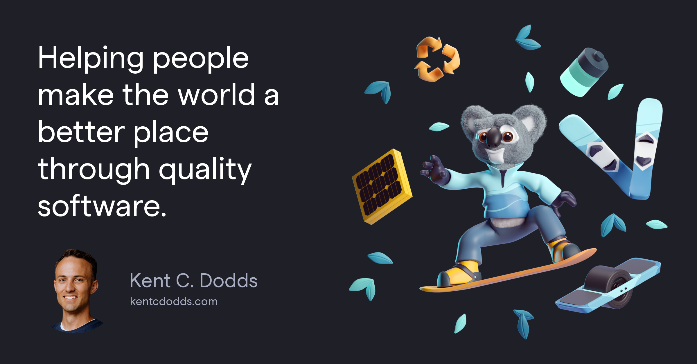 Helping people make the world a better place through quality software