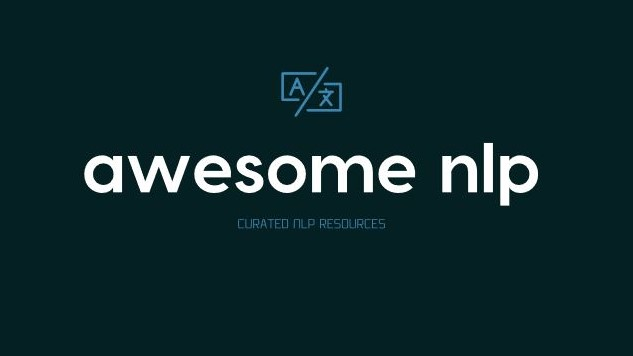 Awesome Nlp