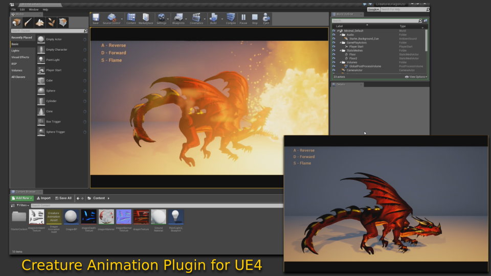 GitHub - kestrelm/Creature_UE4: Unreal Engine 4 Runtimes for