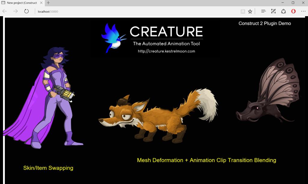 Creature_WebGL/Construct2 at master · kestrelm