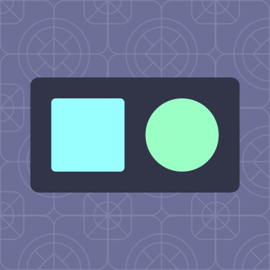 Basic composition: square and circle