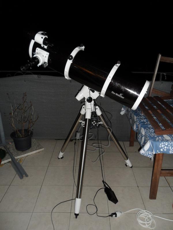Telescope setup picture