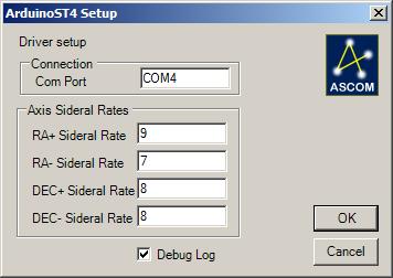 Driver Configuration