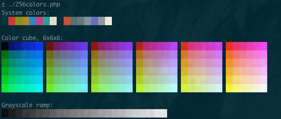 256 colors