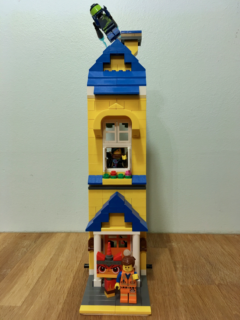 Lego Moc Emmet S Modular Dreamhouse By Underthebricks Rebrickable Build With Lego