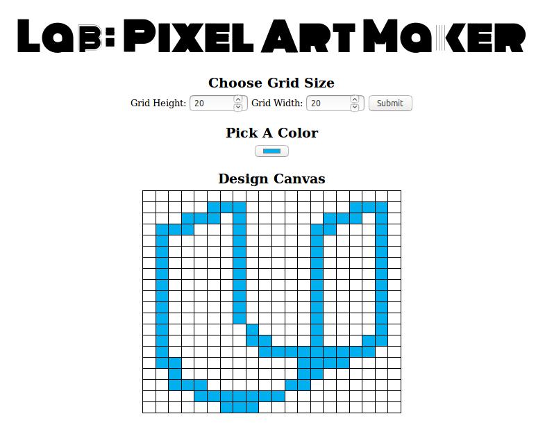 GitHub - khanna98/Pixel-Art-Maker: Udacity Project for