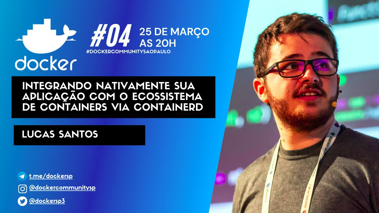 #DockerSP - Entendendo o ecossistema de containers além do Docker