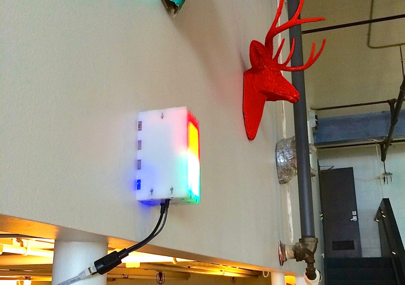 Bathroom Occupancy Wireless Notification Arduino-based System
