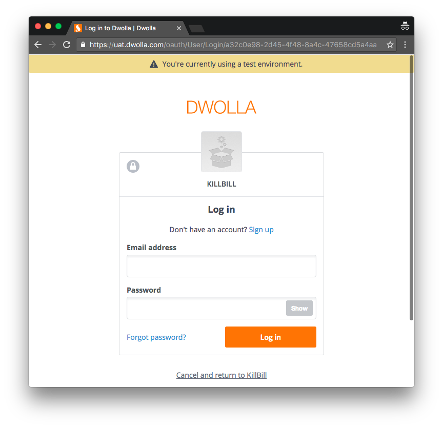 Dwolla Direct solution