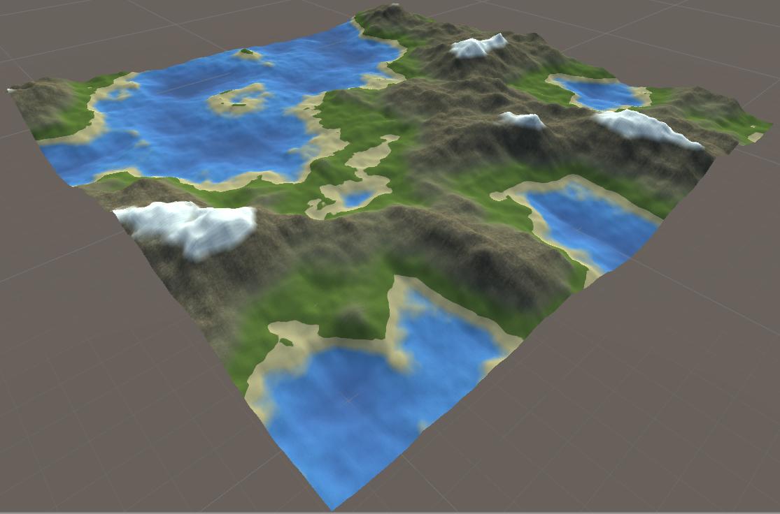 Procedural Generation 3D Terrain Unity - UnityList