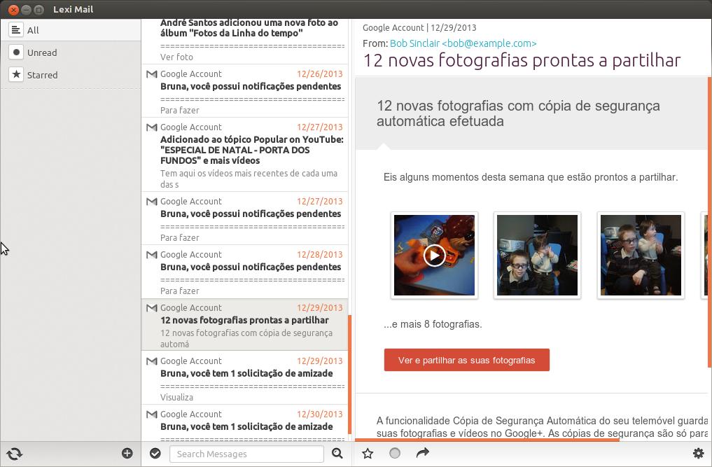 LexiMail Screenshot