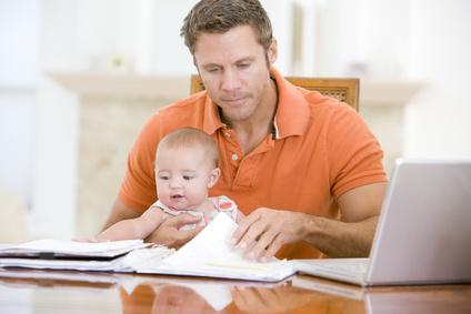 Mehr Zeit mit dem Kind - arbeiten im Home office