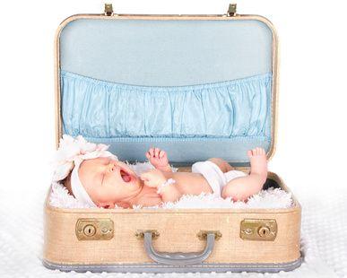 Reisen mit einem Baby - worüber Eltern nachdenken sollten