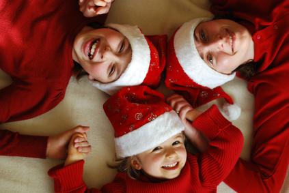 Genießen Sie Weihnachten mit Kindern entspannt - weniger ist oft mehr